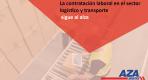 La contratación laboral en el sector logístico y transporte sigue al alza